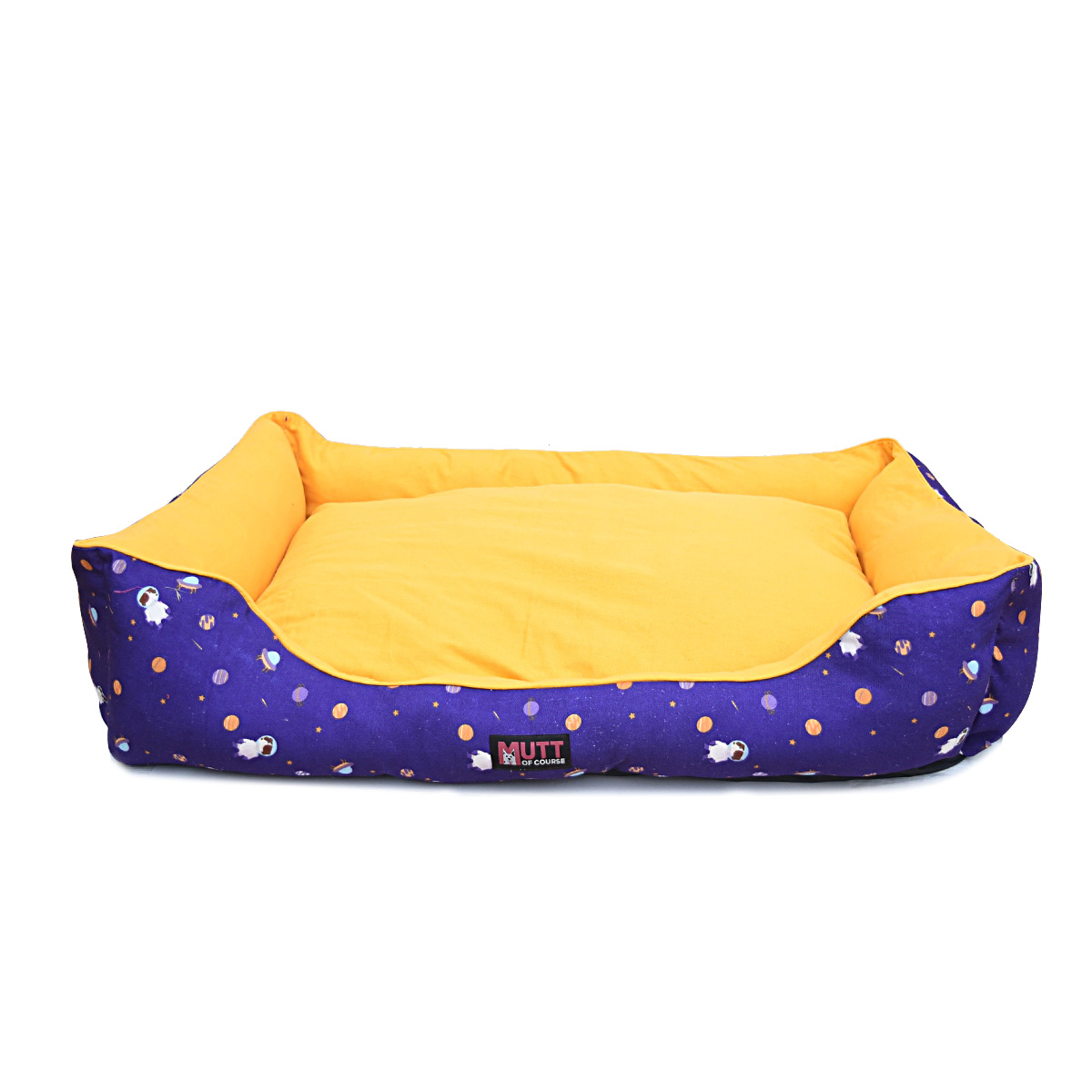Mutt Of Course Lounger Bed For Dogs - Elon Mutts - Medium