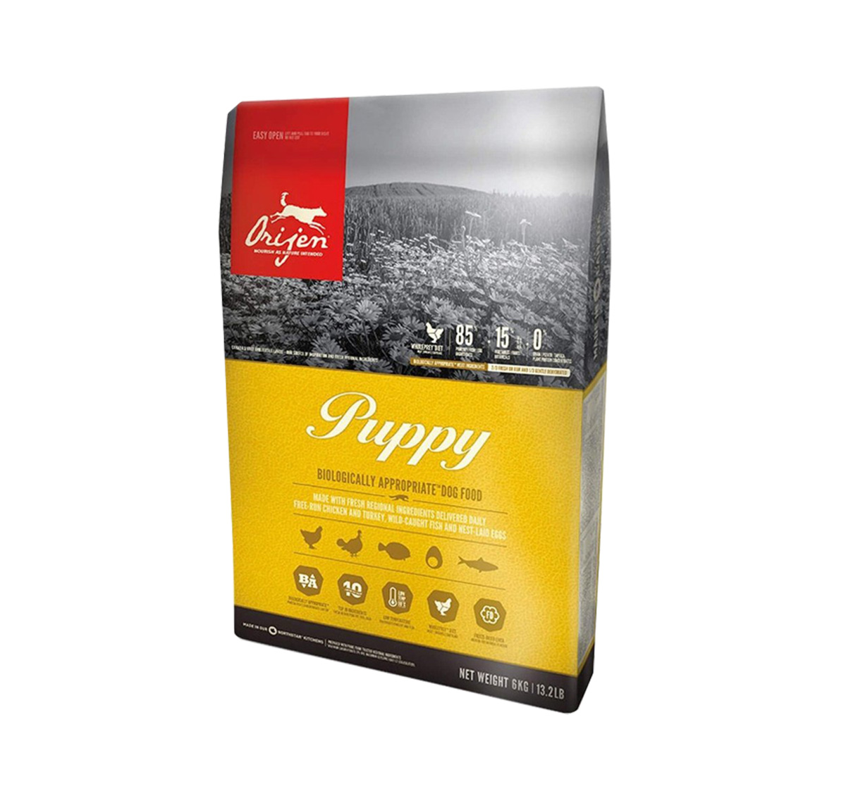 Orijen Puppy Food - 6 Kg
