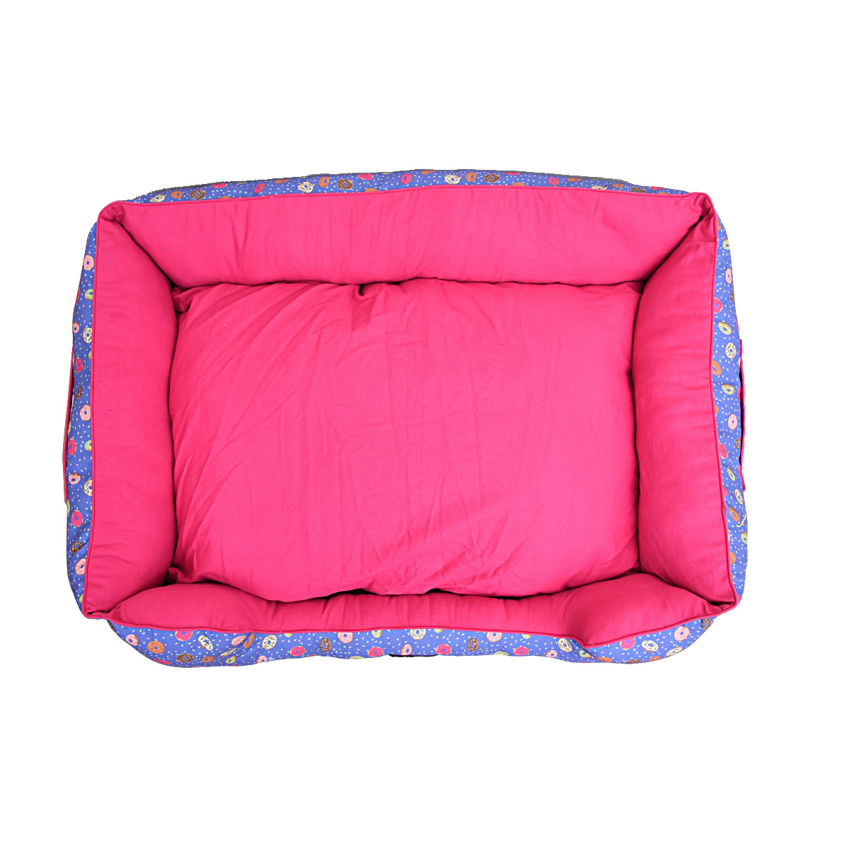 Mutt Of Course Lounger Bed For Dogs - Donnut Disturb - Large