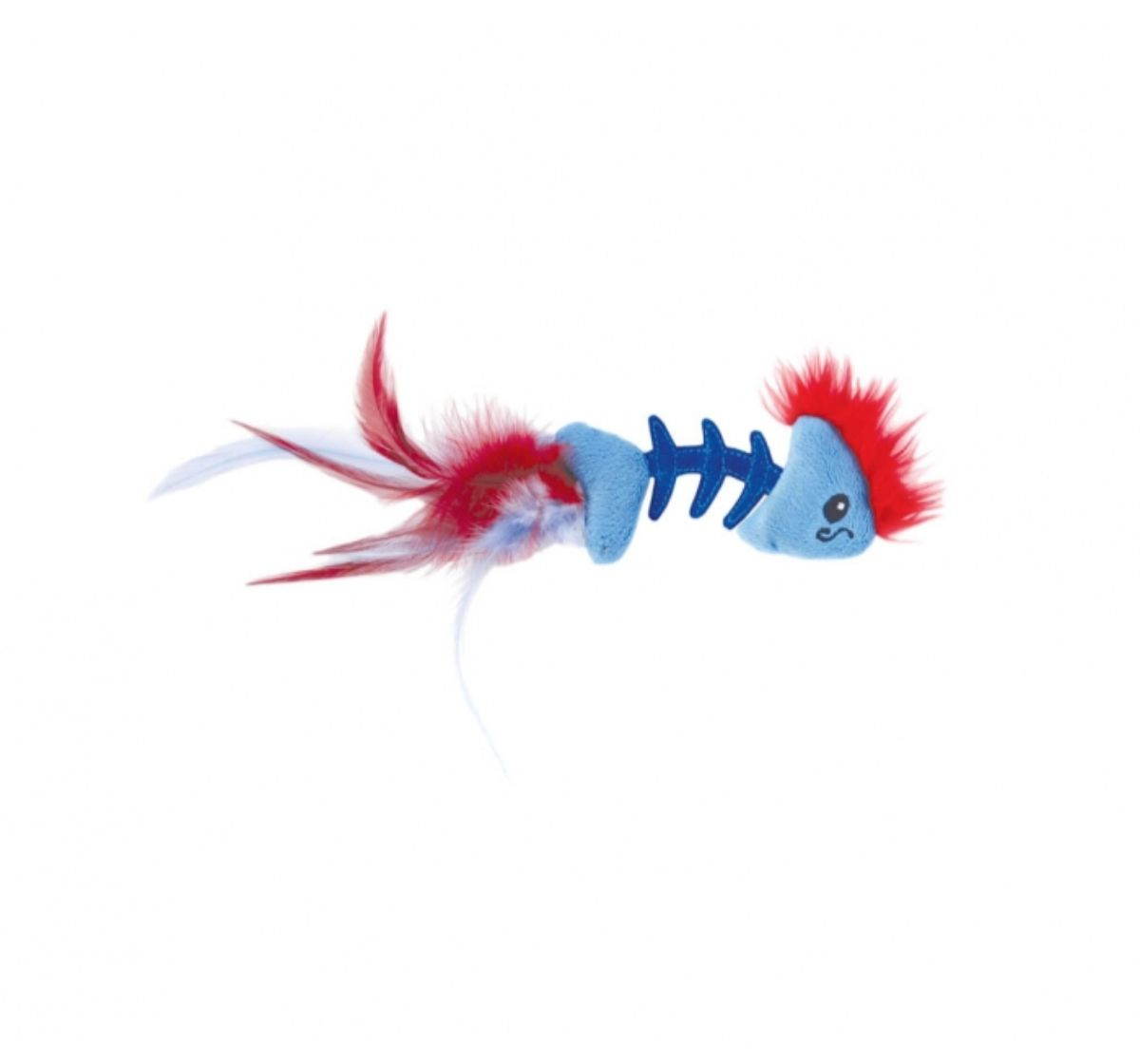 Petstages Feather Fish Bone Cat Toy- 30 CM