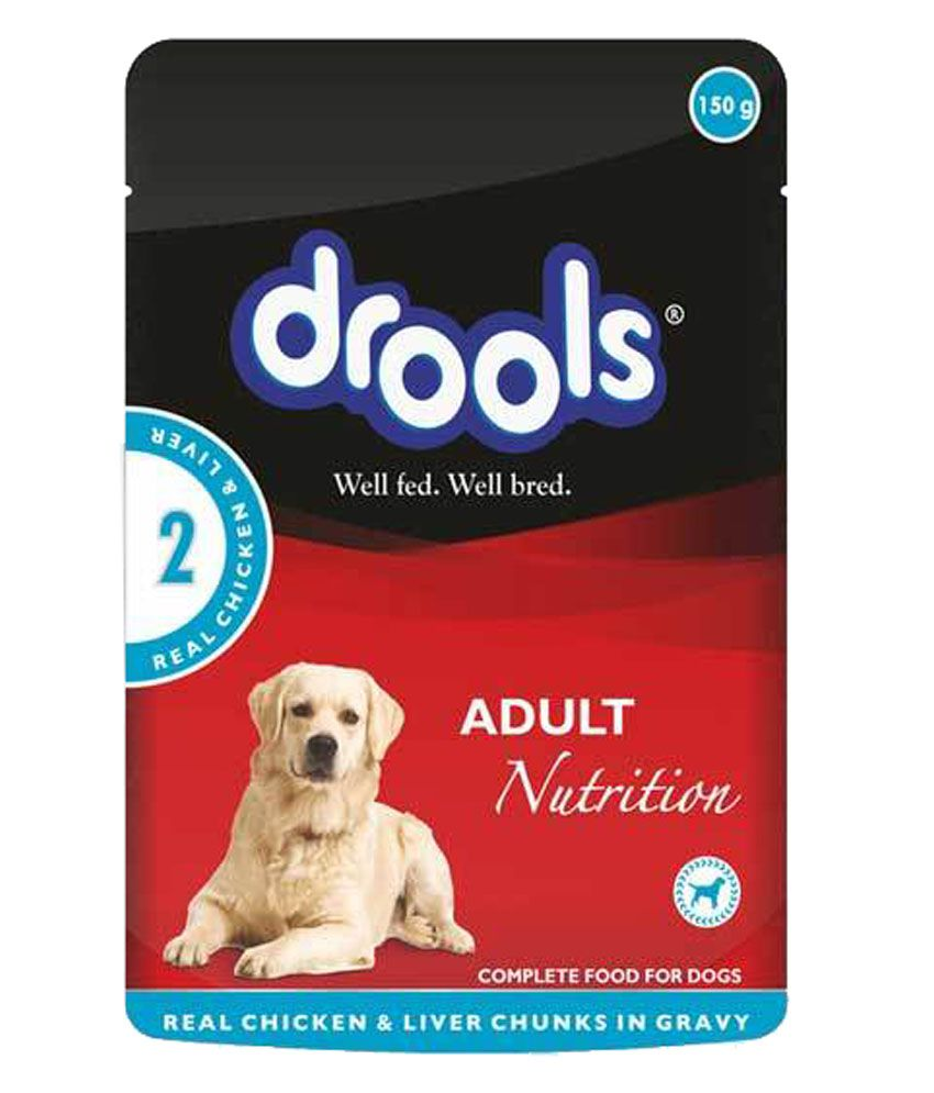 Drools Chicken Chuinks in Gravy Adult Dog  - 150 gm