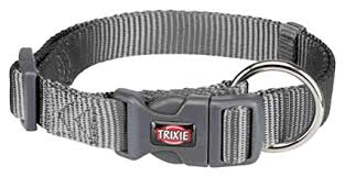 Trixie Premium Collar Graphite - Large & Xlarge