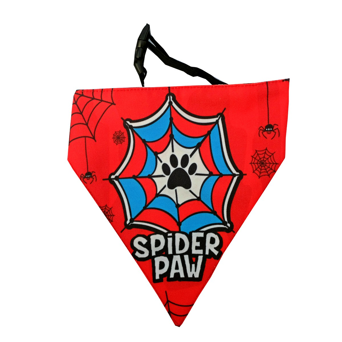 LANA Paws SpiderPaw Adjustable Bandana  -Small & Medium