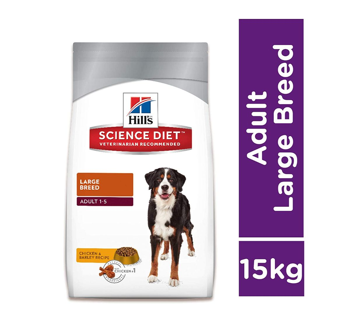 Hill's Science Diet Mature Adult Canine Large Breed Chicken Rice & Barley Dry Dog Food - 15 Kg