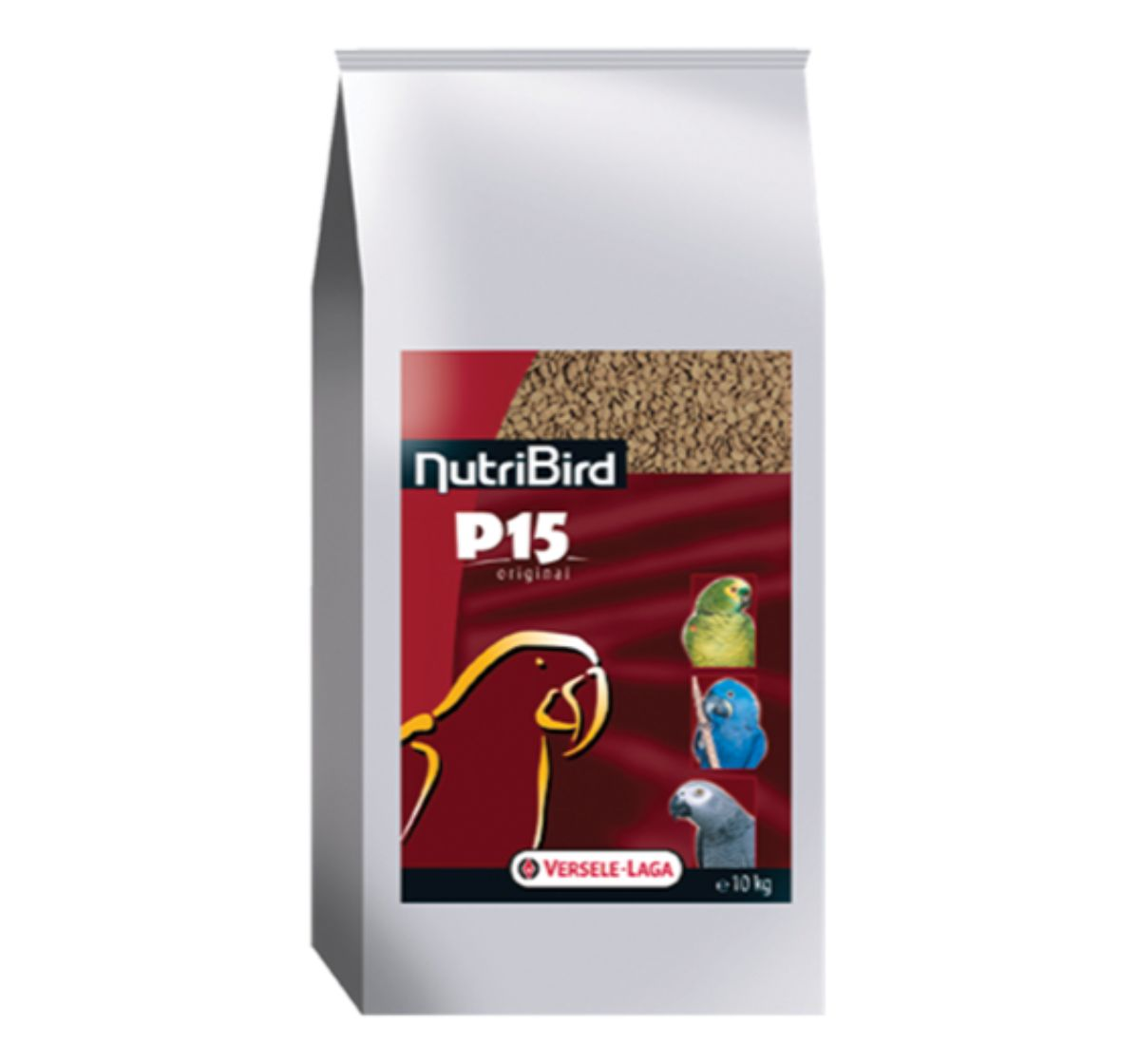 Versele Laga NutriBird P15 Pellets Original Bird Food -10 kg