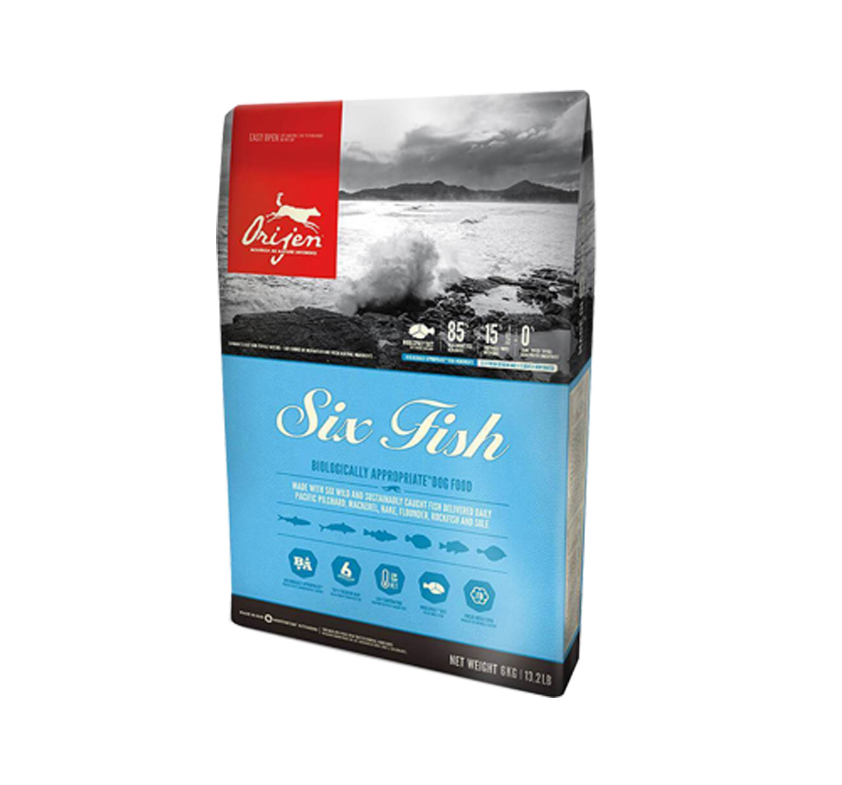 Orijen Six Fish Dog Food- 2kg