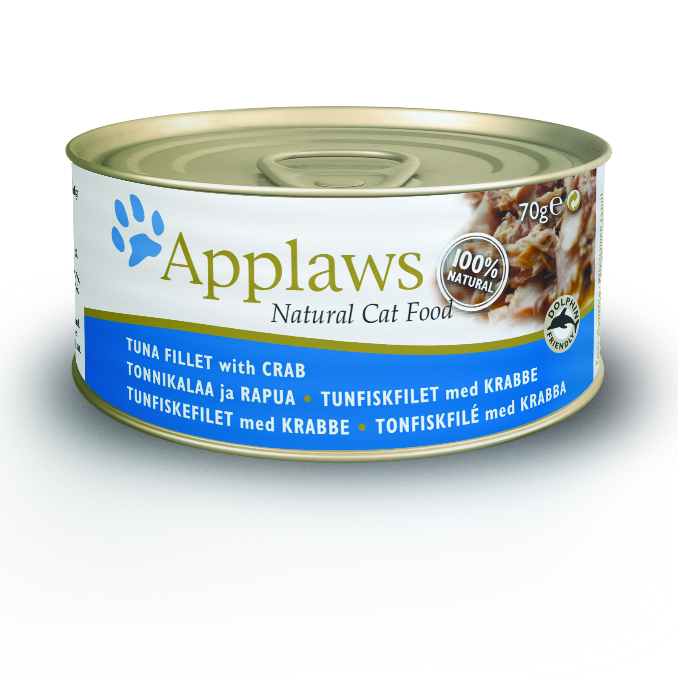 Applaws Cat Can Food Tuna with Crab -70 gm (24 cans)