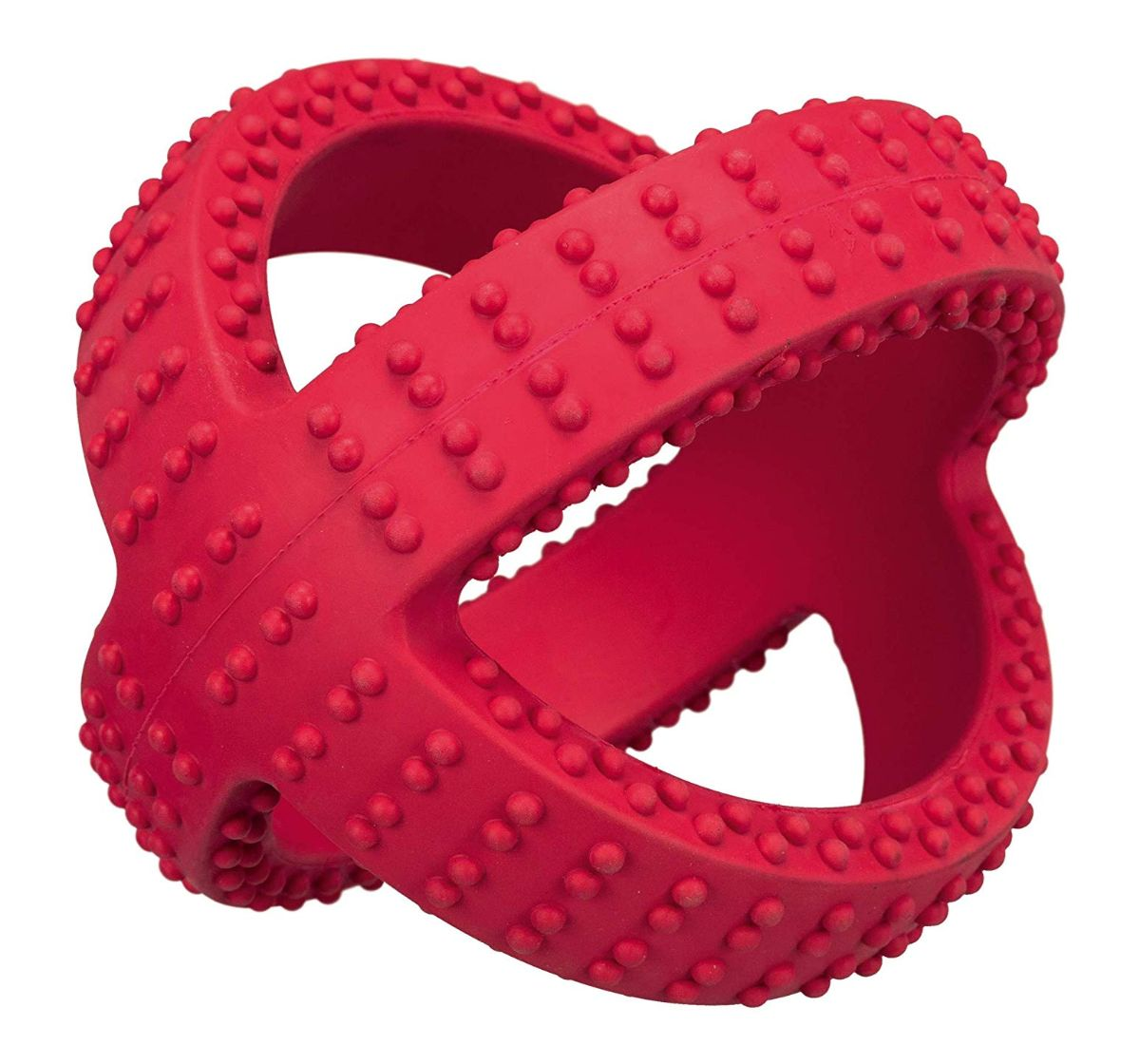 Trixie Tugger Natural Rubber Red Toy