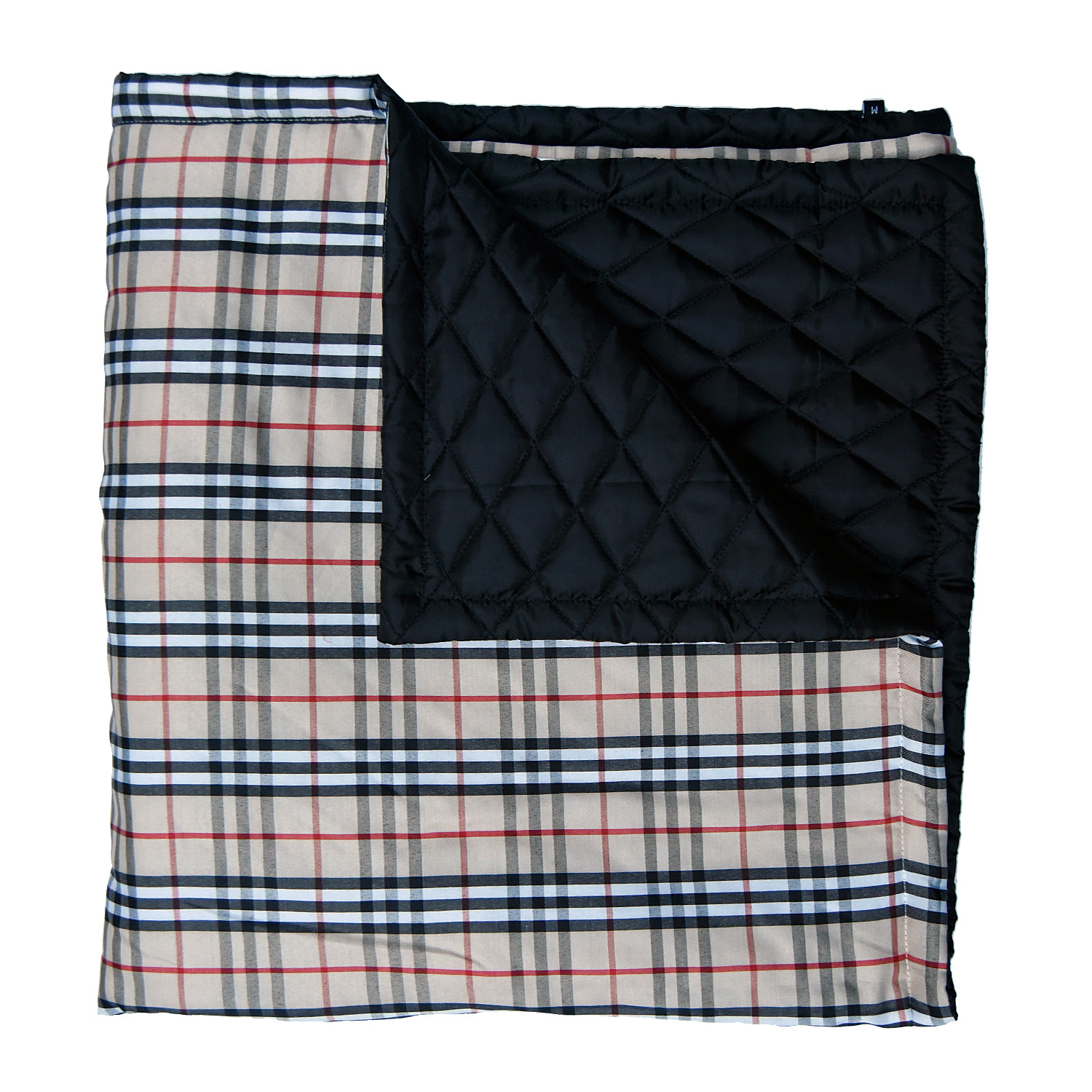 Mutt Of Course Pupberry Blanket Black  - Medium