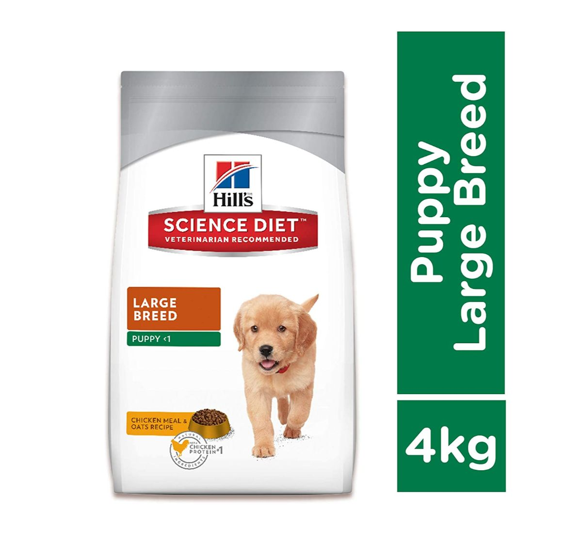 Hill's Science Diet Puppy Large Breed Chicken & Oats Dry Dog Food - 4 Kg