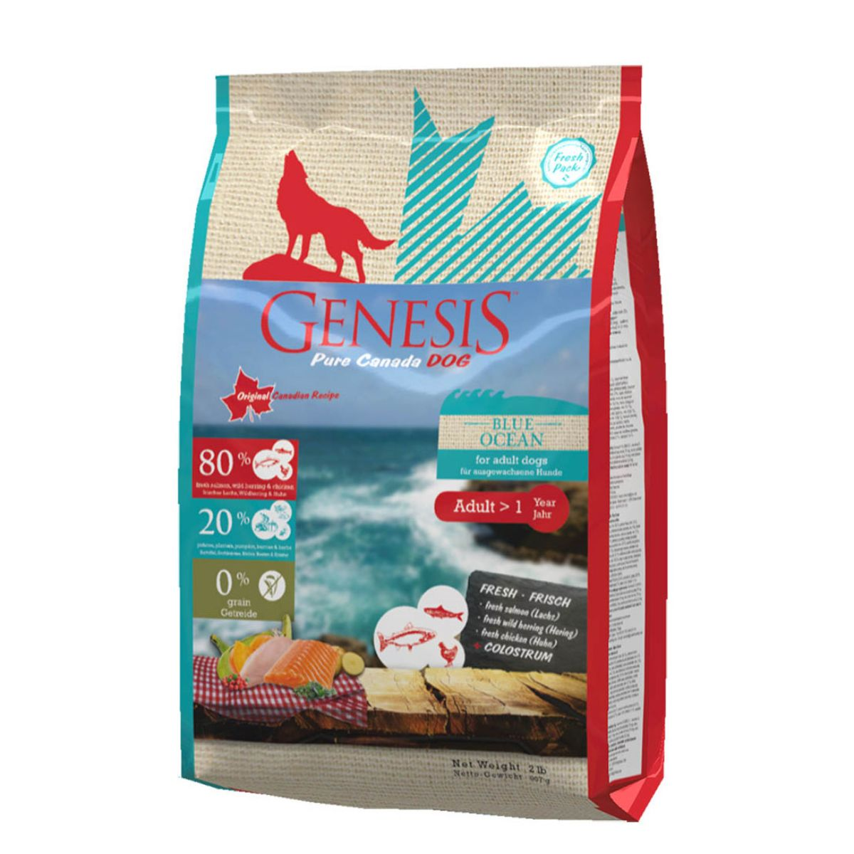 Genesis Pure Dry Dog Food Adult Blue Ocean - 11.79 Kg