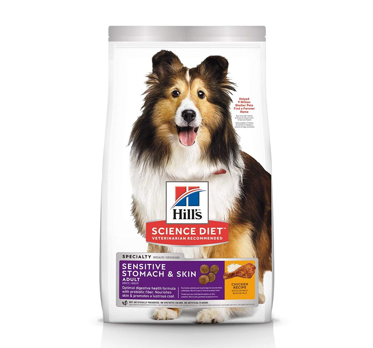 Hill's Science Diet Adult Sensitive Stomach & Skin  Small & Toy Breed Dry Dog Food - 1.81 Kg